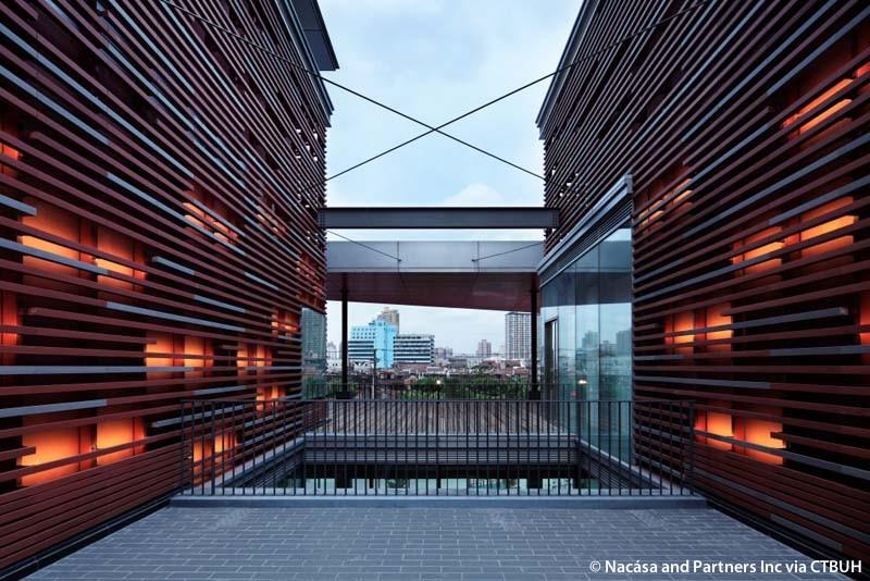 Citic plaza the skyscraper center for Sichuan cendes architectural design company limited