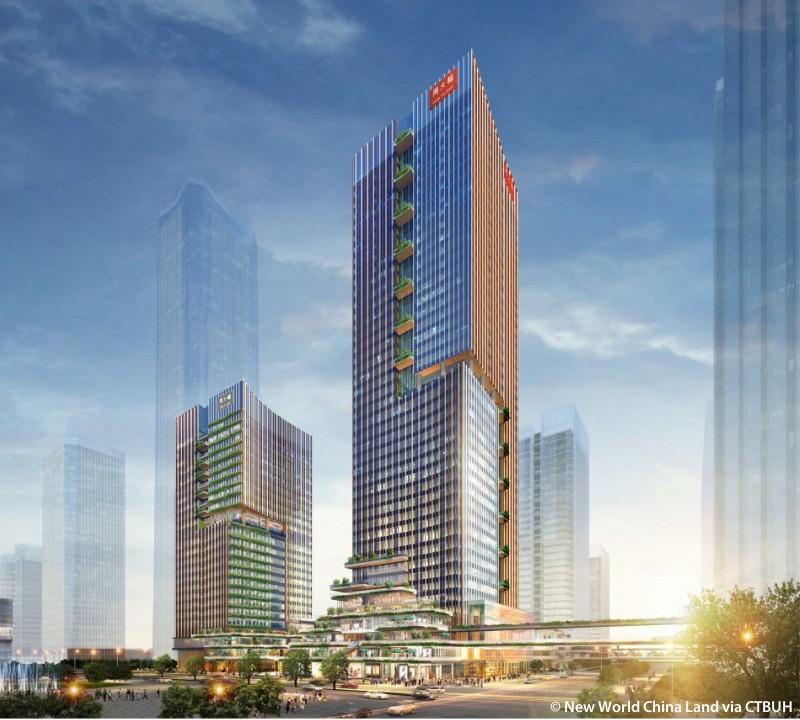 Chow Tai Fook & New World Development Qianhai Headquarters