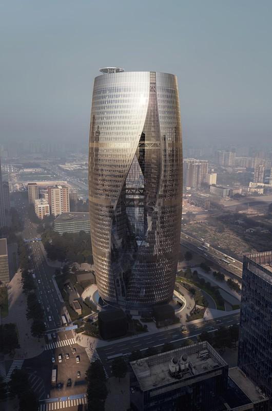 Soho Li Ze Tower The Skyscraper Center