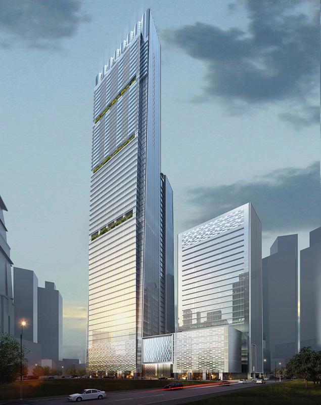 Guoco Tower - Das Wolkenkratzerzentrum