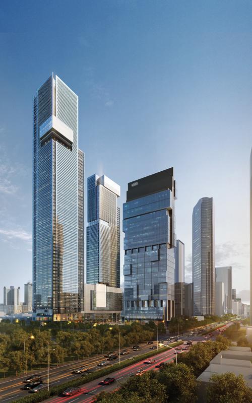Thamrin Nine Tower 1 - The Skyscraper Center