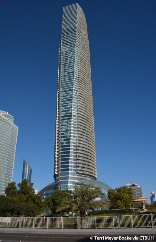 the landmark the skyscraper center