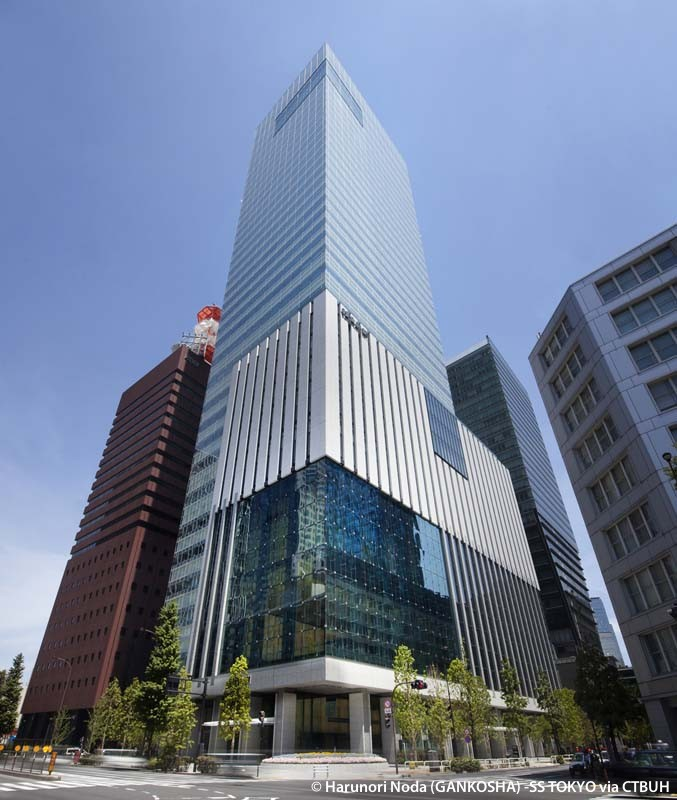 The Yomiuri Shimbun Building The Skyscraper Center