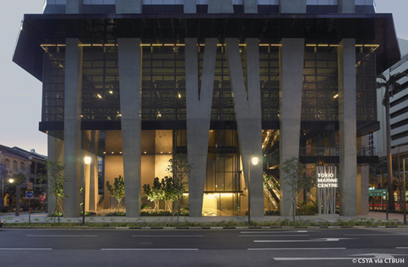 tokio marine centre the skyscraper center