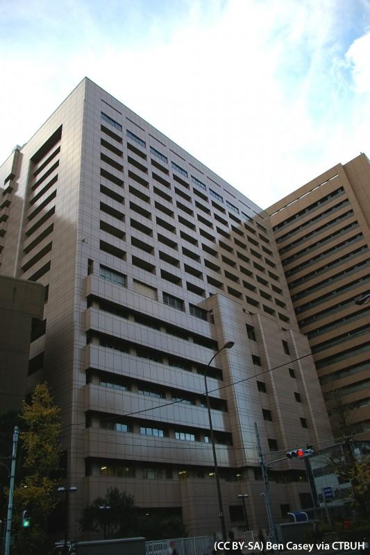 Tokyo Medical and Dental University Hospital B Wing - The Skyscraper