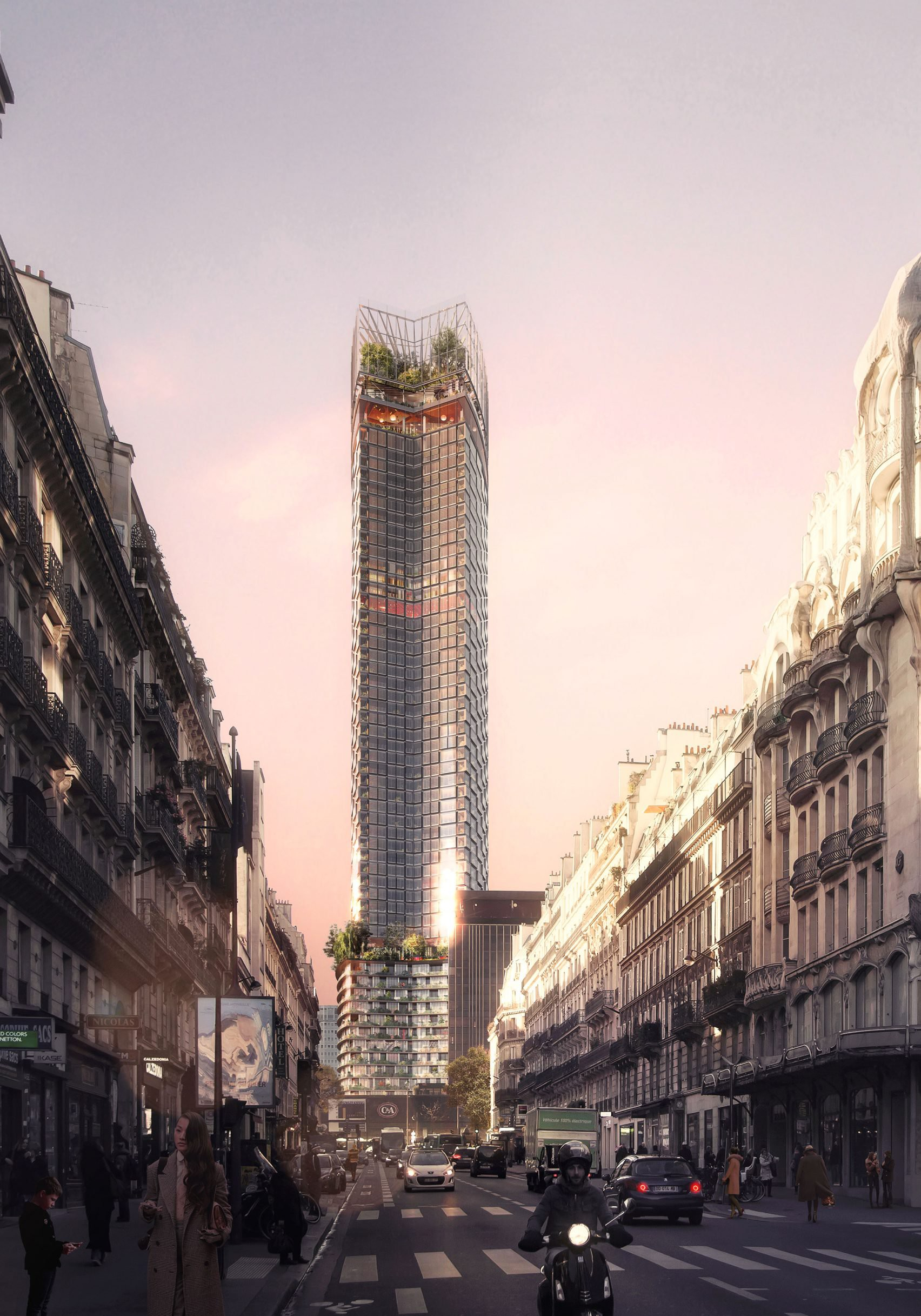 All Tour Montparnasse Competition Design Project