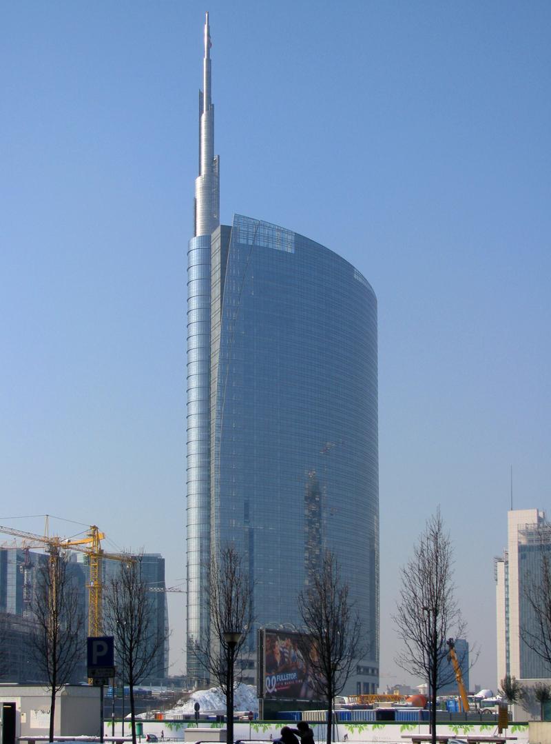 unicredit tower  skyscraper center