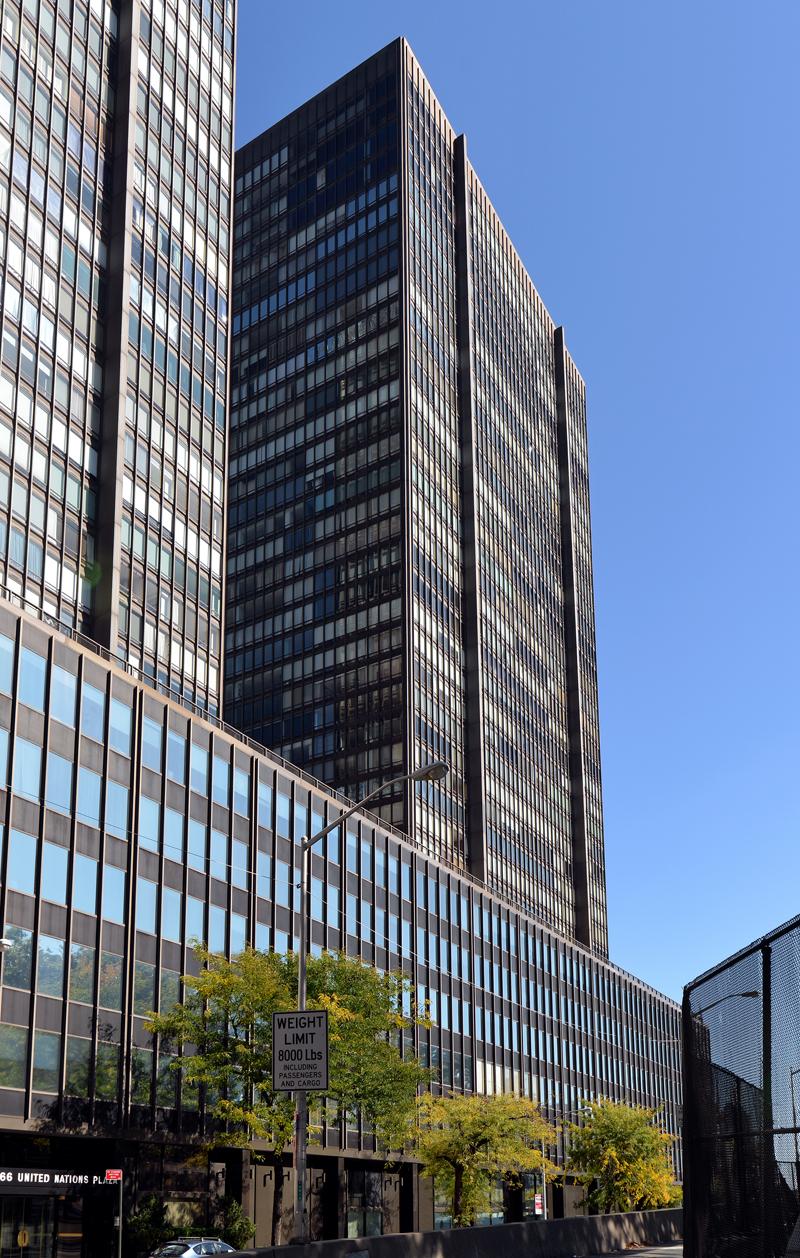 870 U N Plaza Apartments The Skyscraper Center