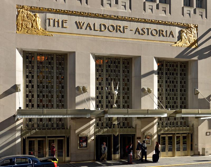 Waldorf astoria new york the skyscraper center for Design hotel waldorf