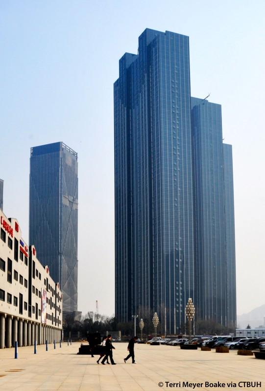 Wanda East Port Tower 1 The Skyscraper Center