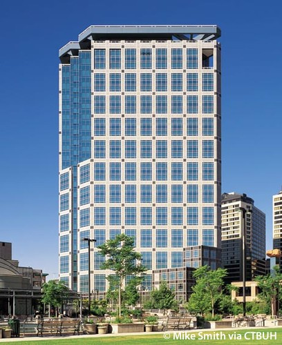 Wells Fargo Building In Salt Lake City