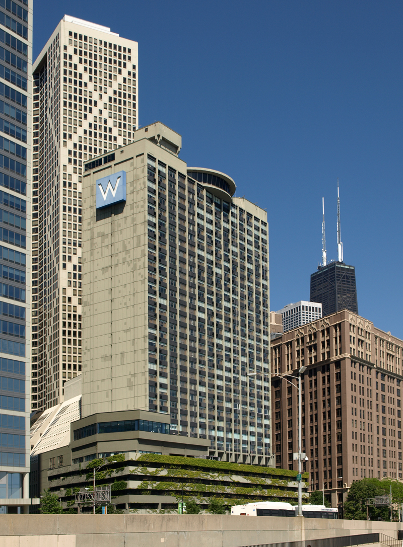 W hotel chicago lakeshore the skyscraper center for Lakeshore design builders