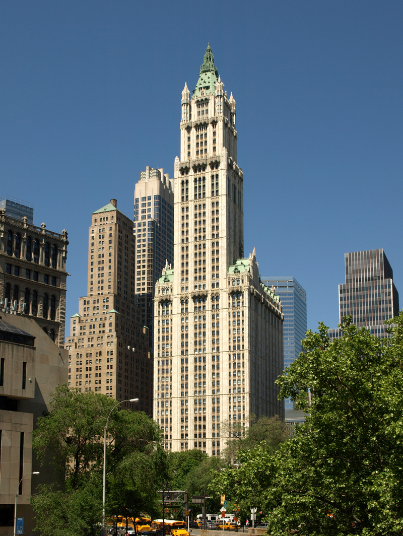 Woolworth Building The Skyser Center