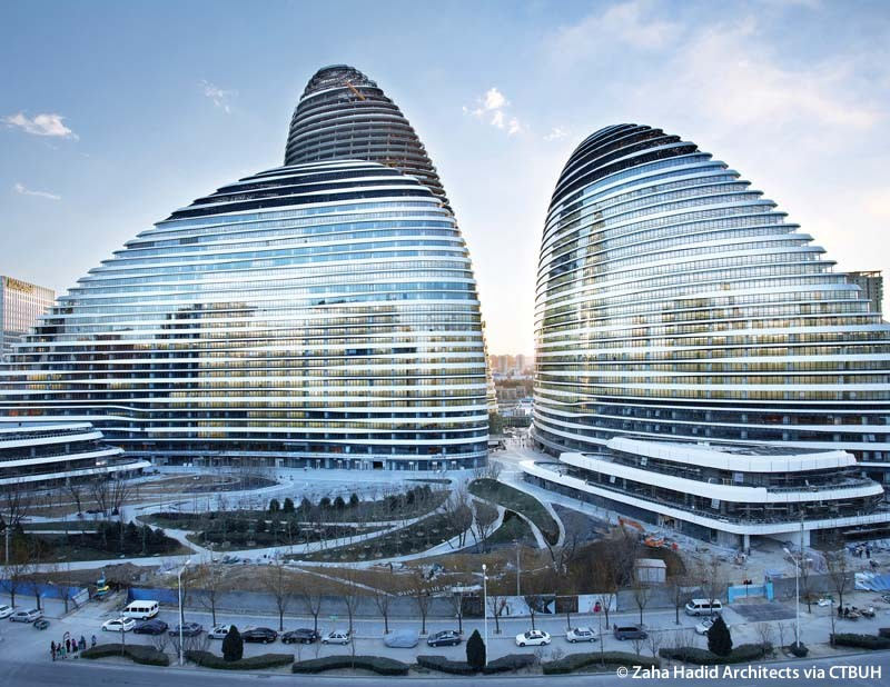 Image result for Wangjing Soho Commercial offices