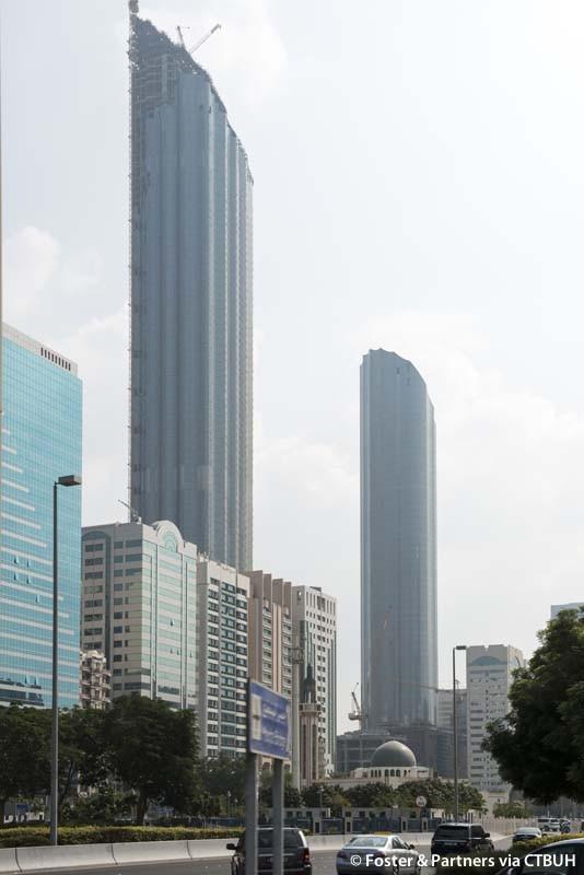 world trade center abu dhabi aussichtsplattform