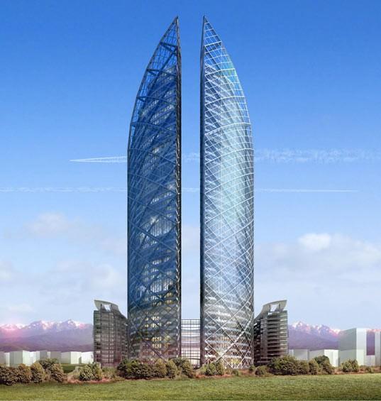 Almaty Financial District Complex