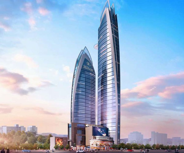 Pinnacle Towers Complex - The Skyscraper Center