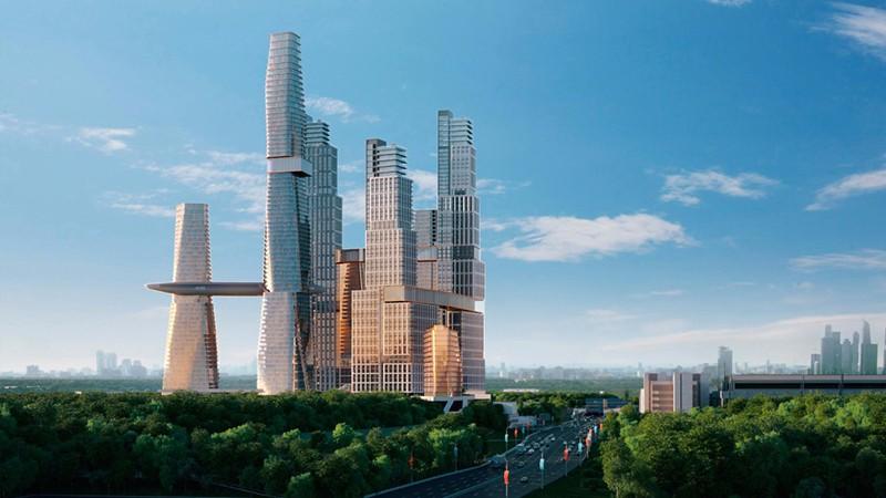 Neskuchny Home Amp Spa Complex The Skyscraper Center