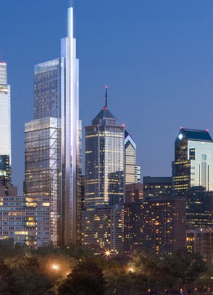 Buildings In Center City Philadelphia
