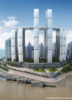 Raffles City Chongqing Complex - The Skyscraper Center