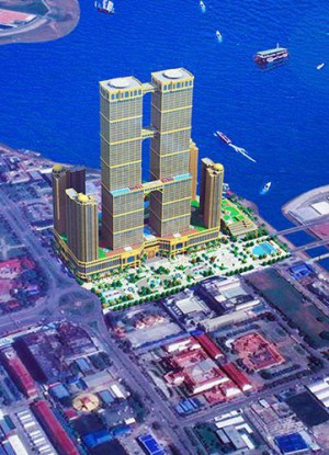 Thai Boon Roong Twin Tower World Trade Center Complex