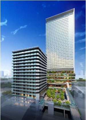 Takeshiba Urban Redevelopment Project