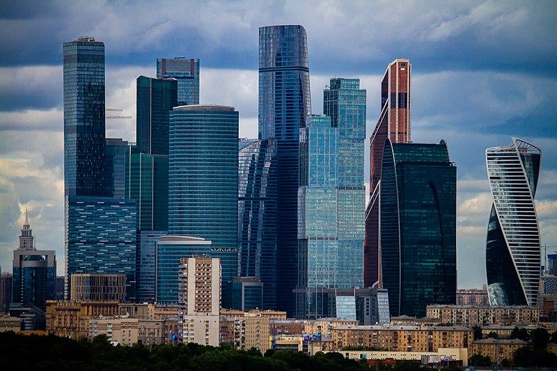 Moscow The Skyscraper Center